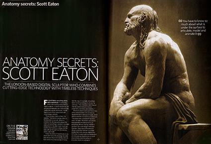 3d artist interview, Scott Eaton
