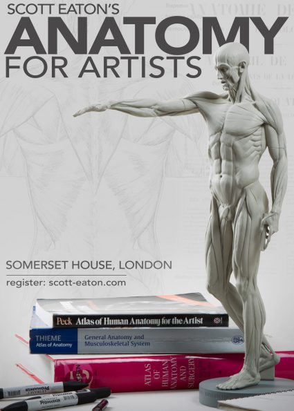 Anatomy for Artist course, London