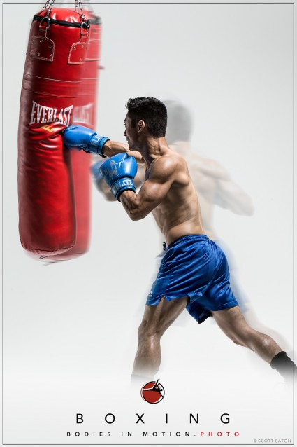 Boxing for Scott Eaton's Bodies in Motion project.