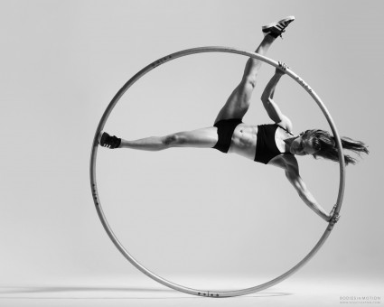 Cyr Wheel from Scott Eaton's Bodies in Motion photography project