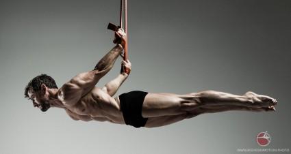 Muscular Male, acrobatics, Scott Eaton's Bodies in Motion project