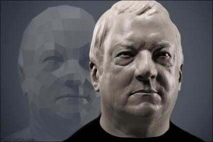 Digital Portrait Sculpting - Scott Eaton at Ubisoft Quebec