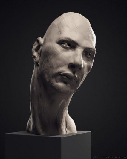 Digital Portraiture Study - Scott Eaton - Pavel 2