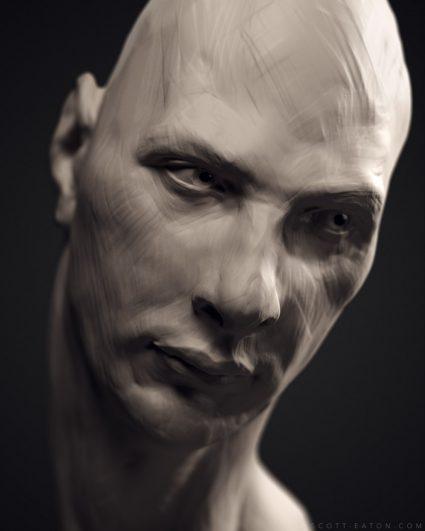 Digital Portraiture Study - Scott Eaton - Pavel 1