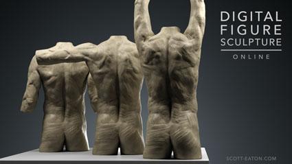 Digital Figure Sculpture in ZBrush