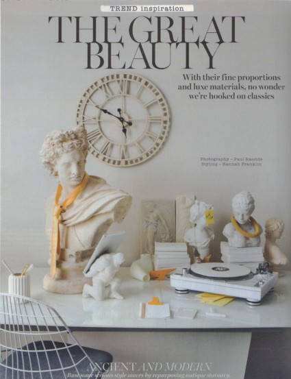 Hercules XIII tablet featured in Living Etc magazine