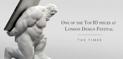 Hercules Tablet Stand in the Times