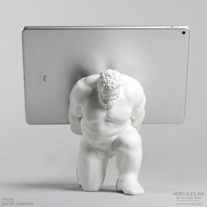 Hercules XIII tablet stand hoisting ipad pro