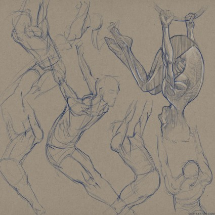 morning drawing study from Bodies in Motion. more hoop gestures.