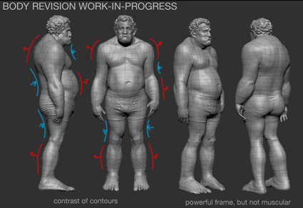 revisions to the ogre anatomy