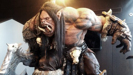 Orc in the Blizzard Reception.