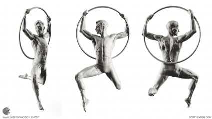 Figure sculpture from Scott Eaton's Bodies in Motion, zbrush.