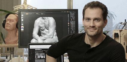 Scott in London Studio