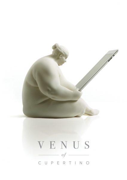 Scott Eaton's Venus of Cupertino ipad docking station