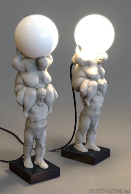 Venus of Cupertino Lamp, a work-in-progress