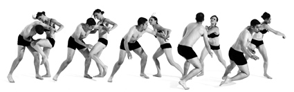 Bodies in Motion photography, dynamic figure reference for artists - Stage Combat and Fencing