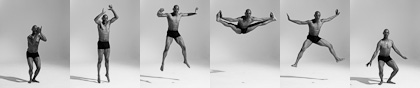 Bodies in Motion photography, dynamic figure reference for artists - modern dance martial arts photos