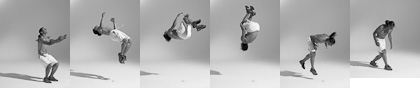 Bodies in Motion photography, dynamic figure reference for artists - free running photos