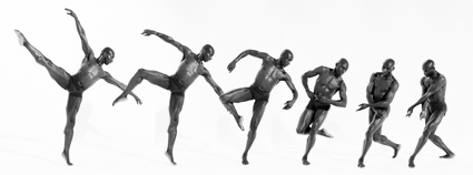 Bodies in Motion photography, dynamic figure reference for artists - Male Ballet