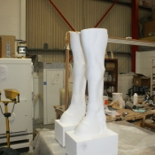 milled front legs