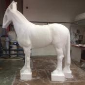 assembled foam model