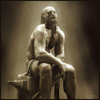 Hephaestus II - Digital Sculpture - Scott Eaton 2010 - Zbrush