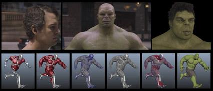 Hulk progression - ILM, Avengers