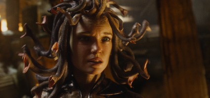 Medusa from Clash of the Titans - character modeling and visual effects