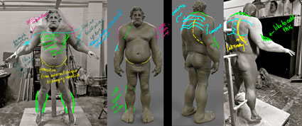 more feedback on the anatomy and prosthetic designs for the ogre