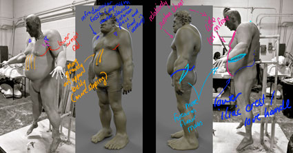 feedback on the anatomy and prosthetic designs of the ogre