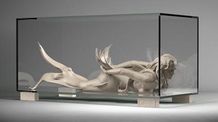 mermaid digital sculpture using Zbrush