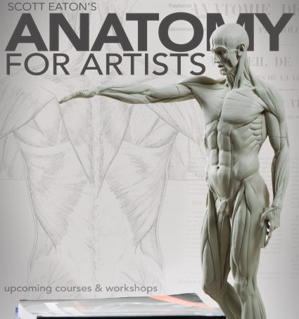 Scott Eaton's upcoming online anatomy and figure sculpture courses