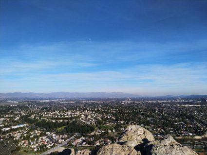 View from Castle Peak in El Escorpion Park