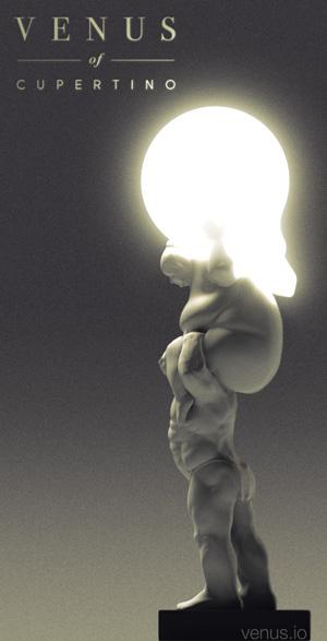 Venus-Hercules Lamp work-in-progress