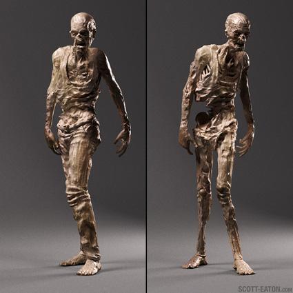 World War Z Zombie Concept Art