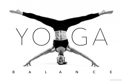 Scott Eaton' Bodies in Motion - Yoga headstand, balance, concentration, meditation